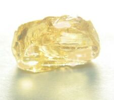 Beautiful, Large, Clean Brite Yellow 18.0 ct  Zircon  Facet Rough!