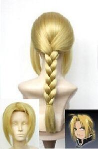Japan Animation Art Fullmetal Alchemist Edward Elric's cosplay wig wigs
