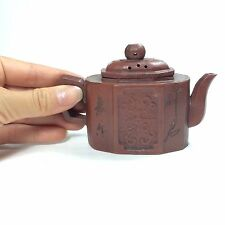 Yixing Pottery Purple Sand Teapot. TE21-38