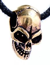 Motorcycle Rider Bronze no. 16 Skull Skull Biker Bike Skull