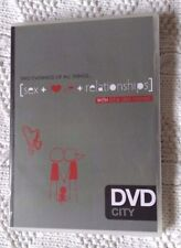 TWO EVENINGS OF ALL THINGS: SEX+LOVE+RELATIONSHIPS (DVD, 4-DISC SET) R-ALL,