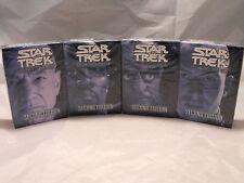 STAR TREK CCG 2E, seconda edizione SACCO DI TUTTI E 4 STARTER PONTI