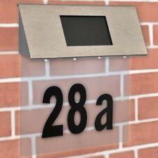 Hausnummerleuchte Solarleuchte Hausnummer Solar LED