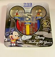 2007 Disney, Mickey Mouse 80 Years PEZ Collectibles, New, In Box, Sealed