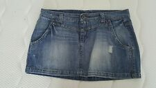 Minigonna jeans Sisley taglia 32