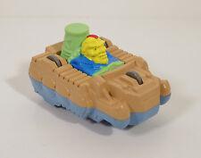 """1990 Duke Nukem Wheeler 3.25"""" Burger King Action Figure Flip-Car Captain Planet"""
