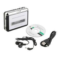 Tape to PC Super USB Cassette-to-MP3 Converter Capture Audio Music Player NEW LU