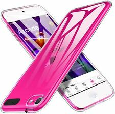 For  iPod Touch 7 7th Case Crystal Clear Transparent Silicone Gel Cover