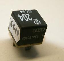 431951253H Original VW AUDI SKODA SEAT Relais Relay 431 951 253 H x1