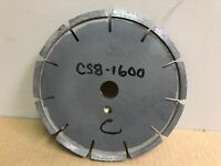 "General Equipment CS8-1600 Diamond Blade, 8"" Nominal Diameter x 0.500"" Cutting W"