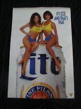 Lite Beer beer poster Yellow Tank Top duo