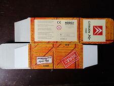 BOITE VIDE NOREV  CITROEN XM 1989 EMPTY BOX CAJA VACCIA
