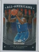 2019/2020 prism dp all american zion williamson rookie card $$$