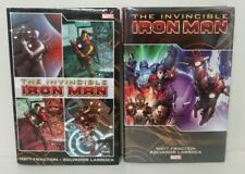 Invincible Iron Man (2010) Hardcover Set Vol 1 2 Matt Fraction Salvador Larroca