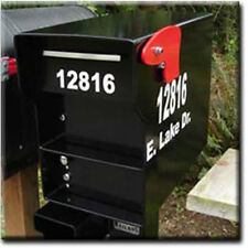 "3"" and 1 1/2"" Vinyl Address Decals or Stickers for a FORT KNOX MAILBOX"