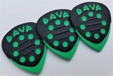 DAVA Control Grip Tip Guitar PICKS 3 PICKS Green
