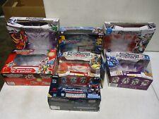 7 Transformers Armada, Energon, Alternators Empty Boxes