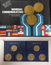 1978 Argentina 20,50,100 Peso Soccer Set Coins,Mini Album /& Story