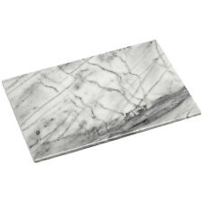 Chopping Board White Marble Polished Finish Cooking Tool Food Kitchen Home New
