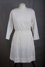 L219/DM Gap White Cotton Casual Side Pockets Dress, size 0, UK8/10