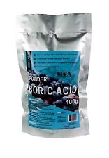 Boric Acid High Purity POWDER 400g SREDA Fully Soluble DUST Pest Control