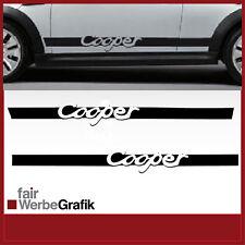 Aufkleber/ Sticker/ Seitenbeschriftung / Dekor/ Mini Cooper / #090