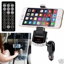 Bluetooth Fm Transmitter Handsfree Car Kit Charger Mp3 Player phone Mount Holder