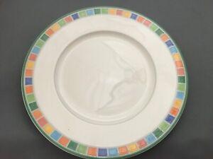 "Villeroy & Boch TWIST ALEA CARO 10 5/8"" Dinner Plates (4)"