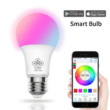 E27 LED Bluetooth Dimmable RGB Smart Light Bulb Wireless APP Remote Control Lamp