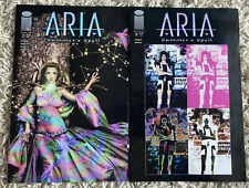 Aria Summer's Spell #1 & #2 (of 2) Image Comics 2002 Sent In A Cardboard Mailer