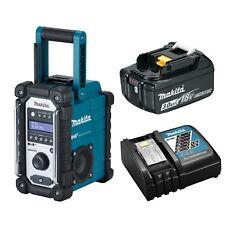 Makita DMR 110 digital Baustellen Radio DAB Inkl. 2 0 AH Akku Ladegerät