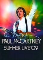 PAUL McCARTNEY 2009 SUMMER LIVE TOUR CONCERT PROGRAM BOOK BOOKLET / NMT 2 MINT