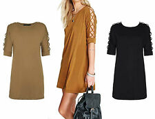Unbranded Polo Neck 3/4 Sleeve Short/Mini Dresses