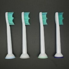 4 x Toothbrush Heads for Sonicare ProResults HX6013/66 HX6530 HX9340