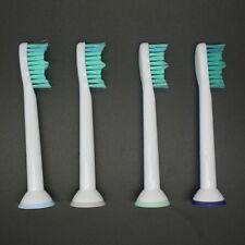 4 x cabezas de cepillo de dientes Sonicare ProResults HX6013/66 HX6530 HX9340 para
