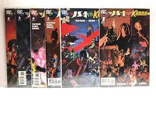 PRIMO:  Justice Society America v Kobra #1 2 3 4 5 6 NM set 2009 DC h2