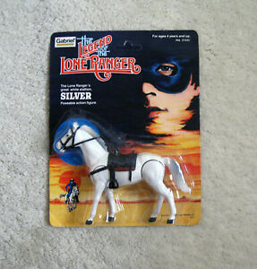 The Legend of the Lone Ranger - Silver Stallion Figure (1980, Gabriel) UNPUNCHED