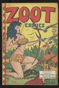 ZOOT COMICS #14 CLASSIC MATT BAKER COVER SOTI GOLDEN AGE GGA 1948