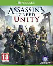 Xbox One Assassin's Creed Unity Clé - Xbox One Jeu Carte - Microsoft Code EU/FR