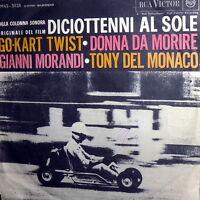 """ENNIO MORRICONE OST DICIOTTENNI AL SOLE 7"""" DEL MONACO DONNA DA MORIRE 1962 ITALY"""