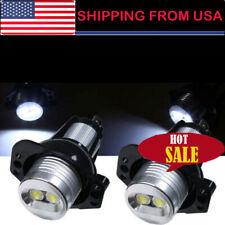 Error Free For BMW Angel Eyes Halo Ring Marker White LED Light Bulbs 12W E90 E91