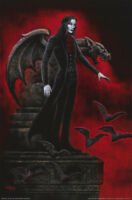 LOT OF 2 POSTERS :FANTASY: CRIMSON THIRST  BY JOSEPH VARGO     FREE SHIP  RC20 S