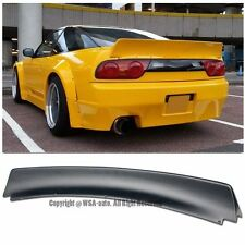 For 89-94 Nissan 240SX S13 Hatchback Bunny Style Rear Trunk Lip Wing Spoiler Kit