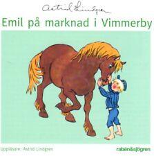 Hörbuch CD Astrid Lindgren schwedisch Emil Michel Lönneberga PA Marknad Vimmerby