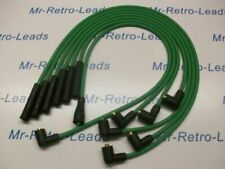 GREEN 8MM PERFORMANCE IGNITION LEADS WILL FIT. RELIANT SCIMITAR V6 ESSEX TVR HT
