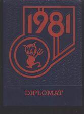 Westland MI Stevenson Junior High School yearbook 1981 (Grades 9-7)