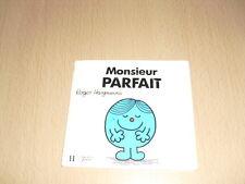 """Monsieur PARFAIT Roger Hargreaves Collection """"Bonhomme"""""""