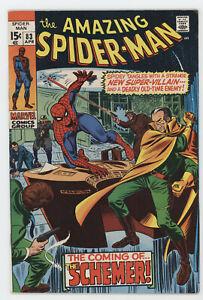 Amazing Spider-Man 83 Marvel 1970 FN VF 1st Schemer Vanessa Fisk Kingpin
