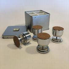 Magnetic diamagntéique feet for Hifi Isolation 4x6kg Load