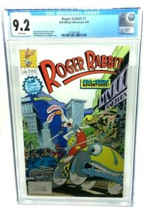 1990 DISNEY PUBLICATIONS - ROGER RABBIT 1 - CGC 9.2 - 1ST DISNEY COMICS ISSUE